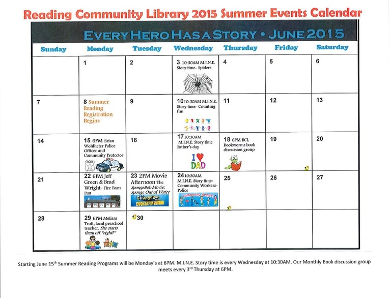 2015 RCL Summer Events pg 2
